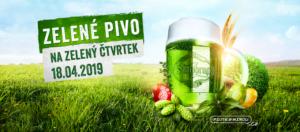 Zelené pivo 2019